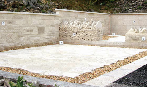 Portland Stone Landscaping Examples