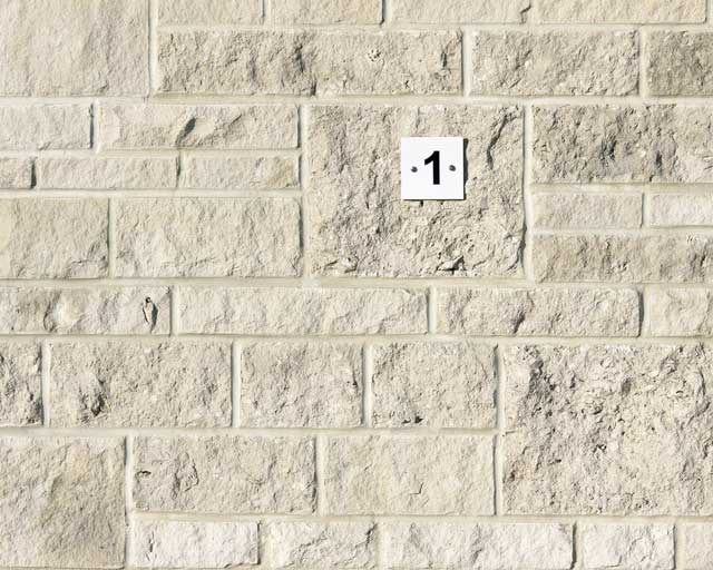 Split face walling